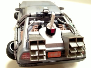 Delorean Back View