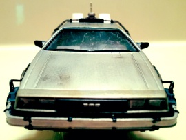 Delorean Front View