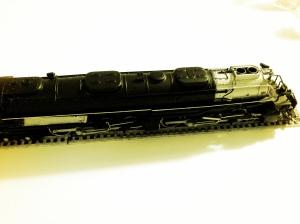 Locomotive front side