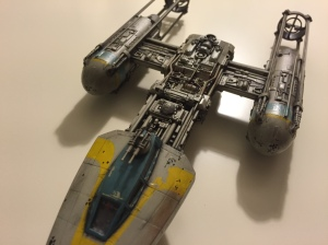 Y-Wing Overhead